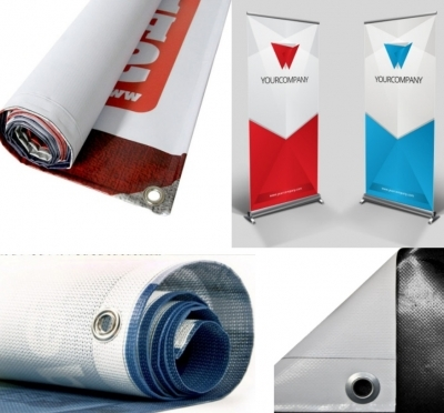 PVC bannery (plachty) & Mesh siete - uv tlač